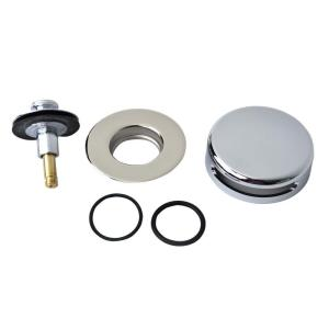 Watco QuickTrim Lift and Turn Bathtub Stopper with Innovator Overflow and Two