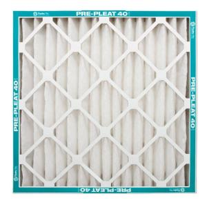 Flanders PrecisionAire 20 in. x 20 in. x 1 in. Pre-Pleat 40 Air Filter (Case of 12)