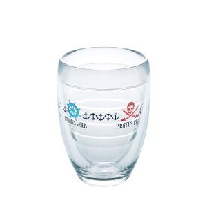 Click here to buy Tervis Work Like A Captain 9 oz. Double-Walled Tritan Stemless Wine Glass by Tervis.