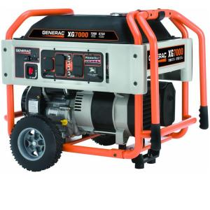 Generac XG 7,000-Watt Gasoline Powered  Portable Generator