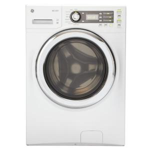 GE 4.1 cu. ft. DOE  Front Load Washer in White, ENERGY STAR