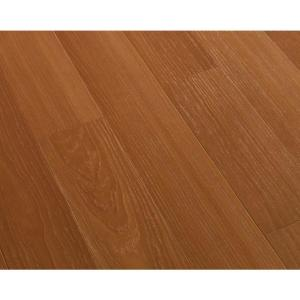 Dark Cherry Block Laminate Flooring - 5 in. x 7 in. Take Home Sample