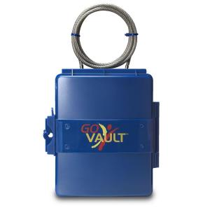 Go Vault Personal Portable Safe Blue