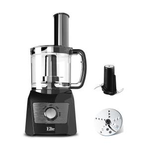 Click here to buy  3 Cups Food Processor 2 Speeds and Pause function come With Blade and Shredding Disc Black Color.