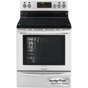 Frigidaire Gallery 5.4 cu. ft. Induction Electric Range with Self-Cleaning Convection Oven in Stainless Steel by