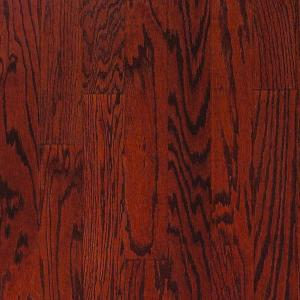 Millstead Oak Bordeaux 3/4 in. Thick x 3-1/4 in. Wide x Random Length Solid Hardwood Flooring (20 sq. ft. / case)