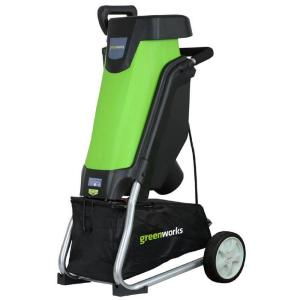 Greenworks 0.375 in. 15 Amp Electric Chipper