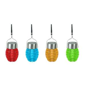 Moonrays Solar Powered Outdoor LED Color-Changing Umbrella Party Lights (8-Pack) by