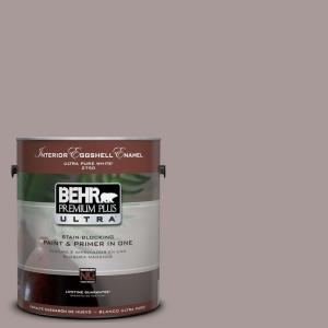 Behr premium plus ultra 1 gal ul250 8 smoked mauve - Eggshell paint in bathroom ...