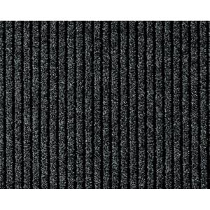 Multy Home Concord Charcoal 26 inch x 50 ft. Roll Rug Runner