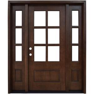 Single door with Sidelites
