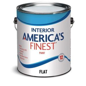 America's Finest 1-Gallon Flat Interior Paint