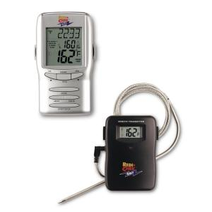 Maverick Redi-Chek Silver LCD Food Thermometer by