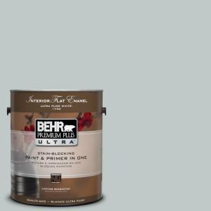 BEHR Premium Plus Ultra 1-Gal. Home Decorators Collection Soothing Spring Flat Enamel Interior Paint
