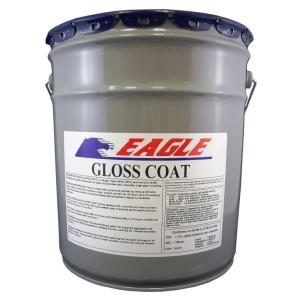 Eagle 5-Gal. Gloss Coat Clear Wet Look Solvent-Based Acrylic Concrete Sealer