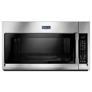 Maytag 30 inch W 1.9 cu. ft. Over the Range Convection Microwave in Fingerprint Resistant Stainless Steel by