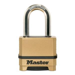 Master Lock Magnum 2 inch Set-Your-Own Combination Padlock with 1-1/2 inch...