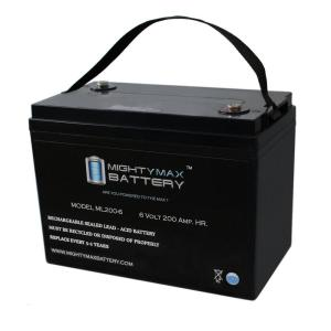 Battery Size: 6-volt