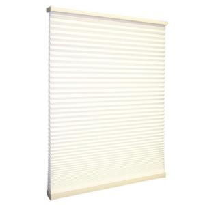 Home Decorators Collection 23 In W X 48 In L Birch Cordless Cellular Shade Discontinued