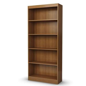 South Shore Furniture Freeport Morgan Cherry 5-Shelf Bookcase