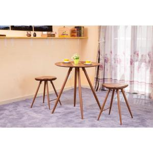 Acme Furniture Ainslee 3 Piece Oak Bar Table Set 72755 The Home Depot