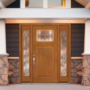 Farmhouse Single Door With Sidelites Front Doors Exterior Doors The Home Depot