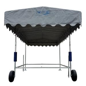 Patriot Docks 10 ft. by 24 ft. Free Standing Canopy Frame and Cover