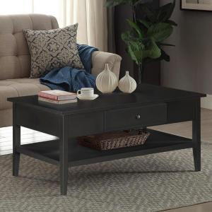Arbor Black Coffee Table by