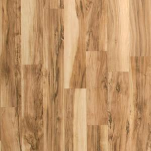 Hampton Bay Brilliant Maple 8mm Thickness x 7 1/2 In. Width x 47 1/4 In. Length Laminate Flooring (22.09 Sq. Ft./Case)