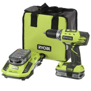 18-Volt ONE+ Lithium+ 1/2 in. Cordless Compact Drill/Driver Kit