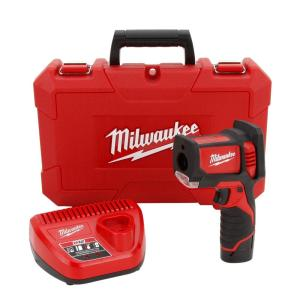 Milwaukee M12 12-Volt Lithium-Ion Cordless Laser Temp Gun Kit
