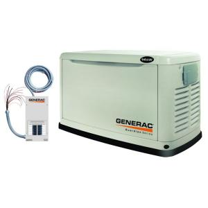 Generac 14,000-Watt Automatic Standby Generator with 100-Amp Transfer Switch