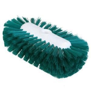 Carlisle 5.5 inch x 9.0 inch Green Tank and Kettle Scrub Brush (Case of 12)