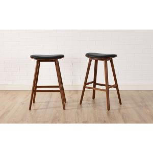 Groovy Leather Bar Stools Kitchen Dining Room Furniture The Short Links Chair Design For Home Short Linksinfo