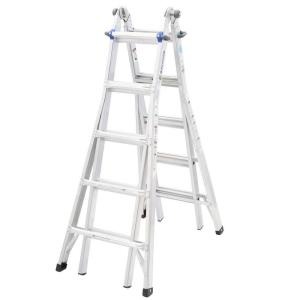 Werner MT1-22 22-Feet Aluminum Telescoping Multi-Position Ladder with 250 lb. Load Capacity