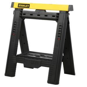 Stanley Adjustable Sawhorse (2-Pack) by