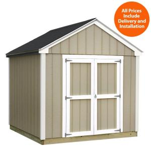 Sheds USA Installed Val U Plus 8 Ft X 10 Ft Smart Siding Shed T0810VP The