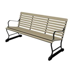 Wood Metal Outdoor Park Benches From Home Depot Benches