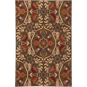 American Rug Craftsmen Amicalola Saddle 3 ft. 6 inch x 5 ft. 6 inch Accent Rug by