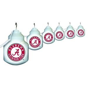 Polymer Products 6-Light Outdoor University of Alabama String Light Set from Outdoor Light Sets