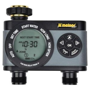 Melnor Advanced 2-Zone Electronic Water Timer by