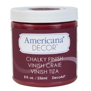 DecoArt Americana Decor 8 oz. Rouge Chalky Paint by