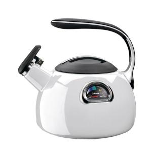 Click here to buy Cuisinart PerfecTemp 8-Cup White Teakettle by Cuisinart.