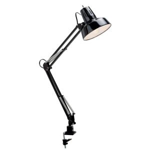 Filament Design Roland 34 inch Black and Steel Desk Lamp by