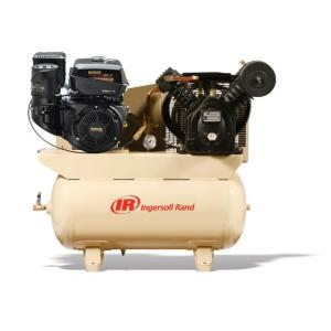 Ingersoll Rand Type 30 Reciprocating 30 Gal. 14 HP Gas Truck Mount Air Compressor by