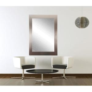 Modern Silver Wall Vanity Mirror by