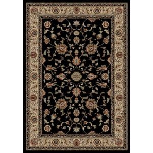 Concord Global Trading Jewel Marash Black 2 ft. 7 inch x 4 ft. Accent Rug by