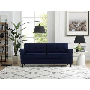 Blue - Sofas & Loveseats - Living Room Furniture - The Home ...