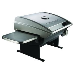 Cuisinart 1 burner all foods portable propane gas grill cgg 200 the home depot - Home depot bbq propane ...