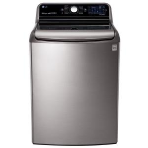 LG Electronics 5.7 cu. ft. High-Efficiency Top Load Washer with Steam and... by LG Electronics